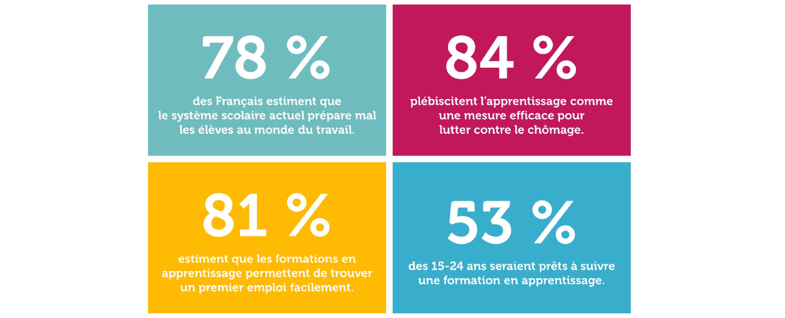 Sondage : les Français et l'apprentissage