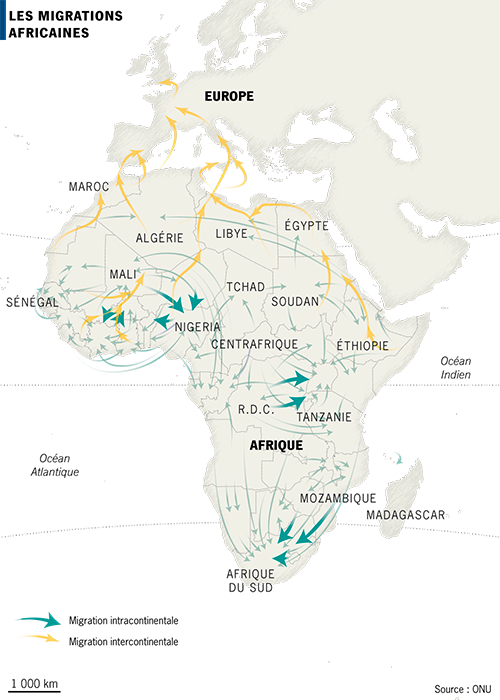 Les migrations africaines